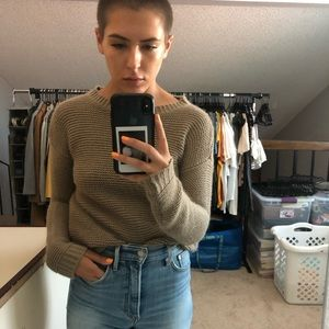Forever 21 Sweaters - Brown Knit Sweater